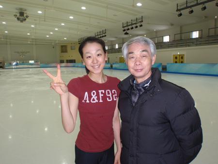 信夫先生と浅田真央