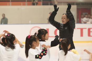 東北のスケーター達と一緒にスケート教室しました。